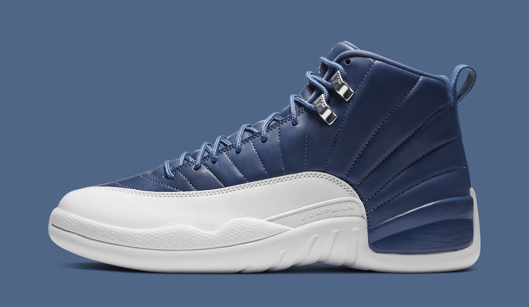 Air Jordan 12 Retro 'Indigo' 130690-404 Lateral