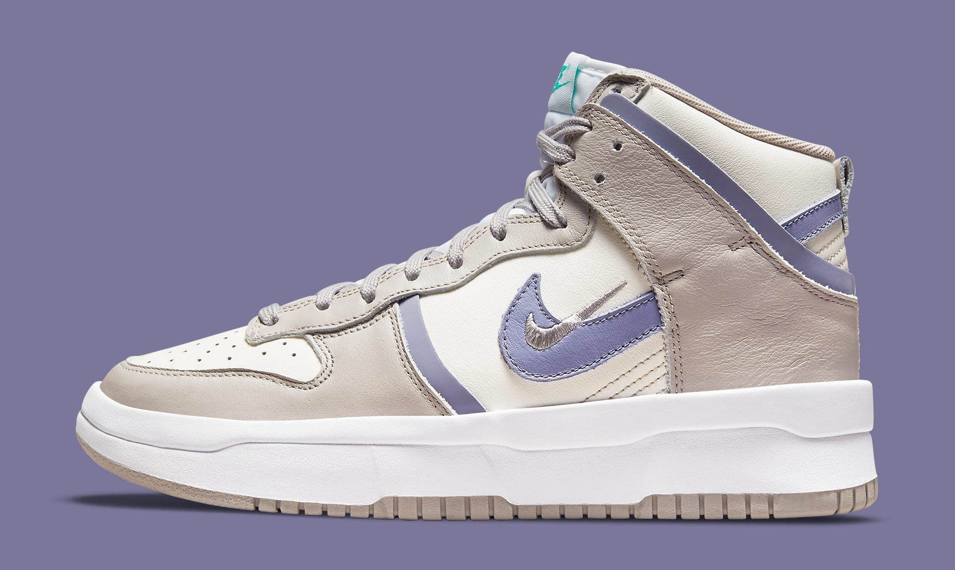 Nike Dunk High Up 'Iron Purple' DH3718-101 Lateral