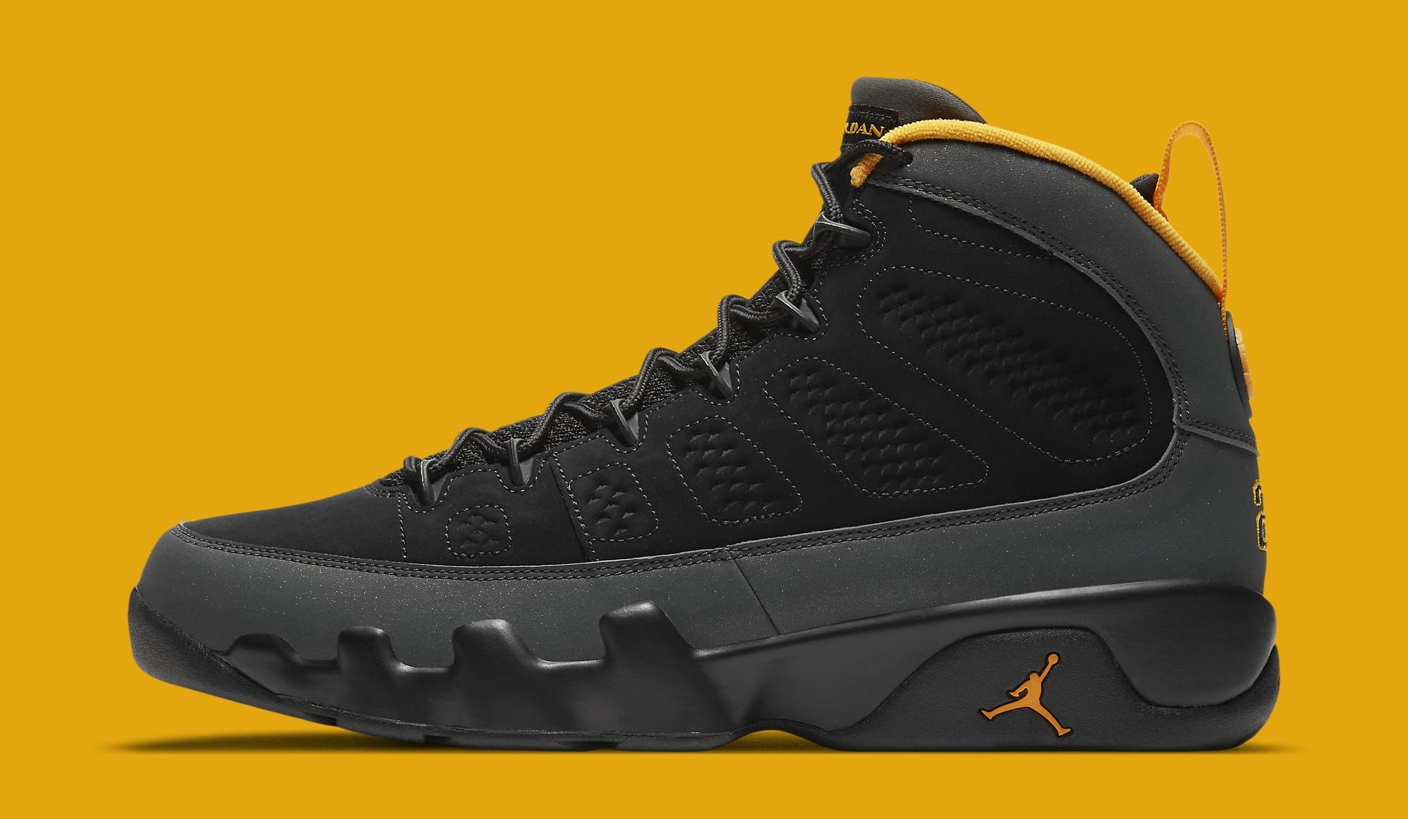 Air Jordan 9 Retro 'University Gold' CT8019-070 Lateral
