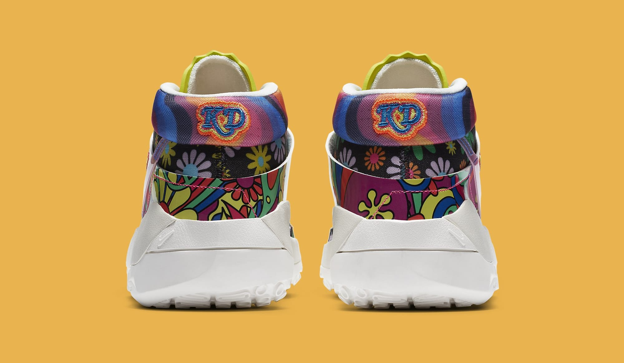 Nike KD 13 'Peace, Love, and Basketball' DA1341-100 Heel