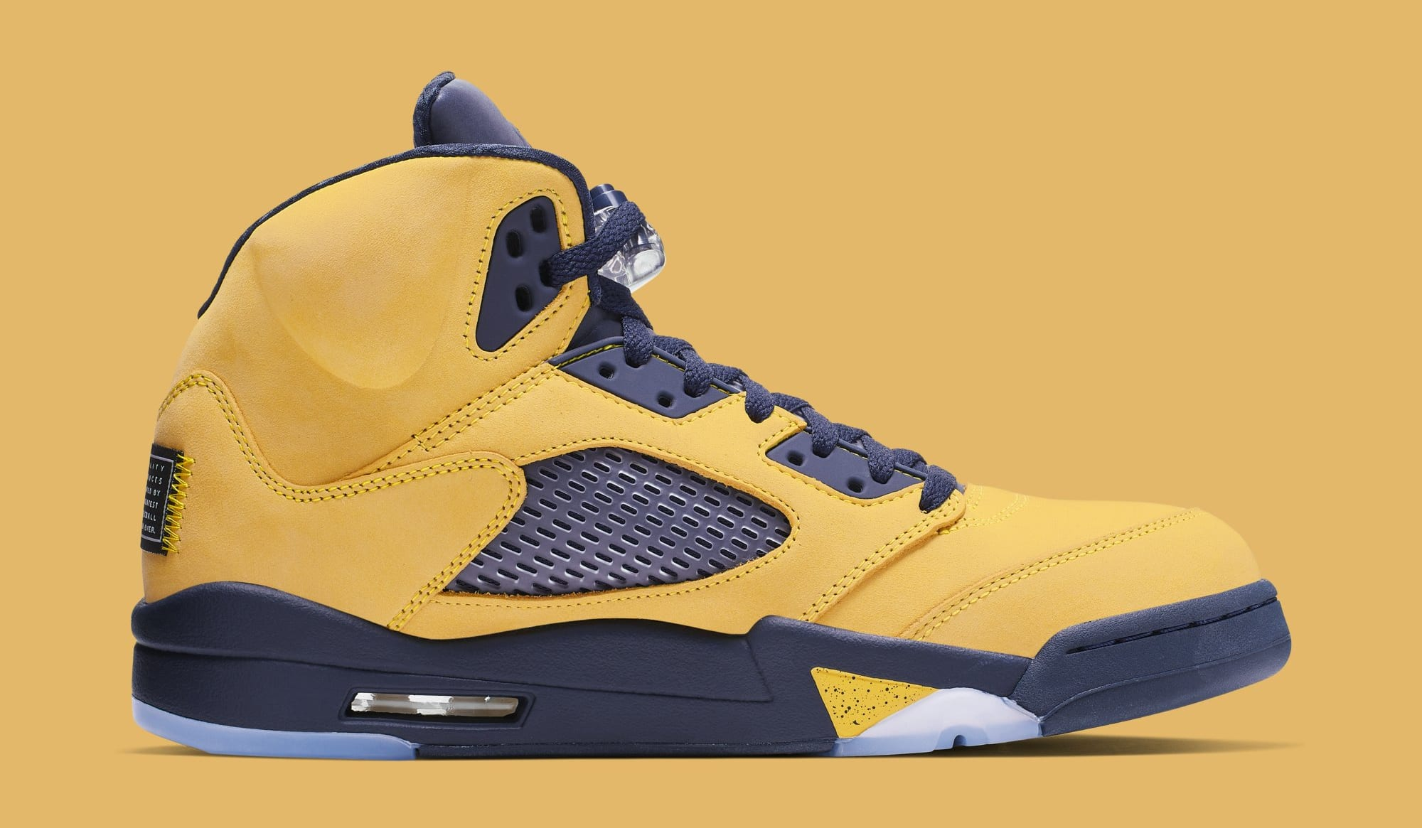 Air Jordan 5 'Michigan' CQ9541-704 (Medial)