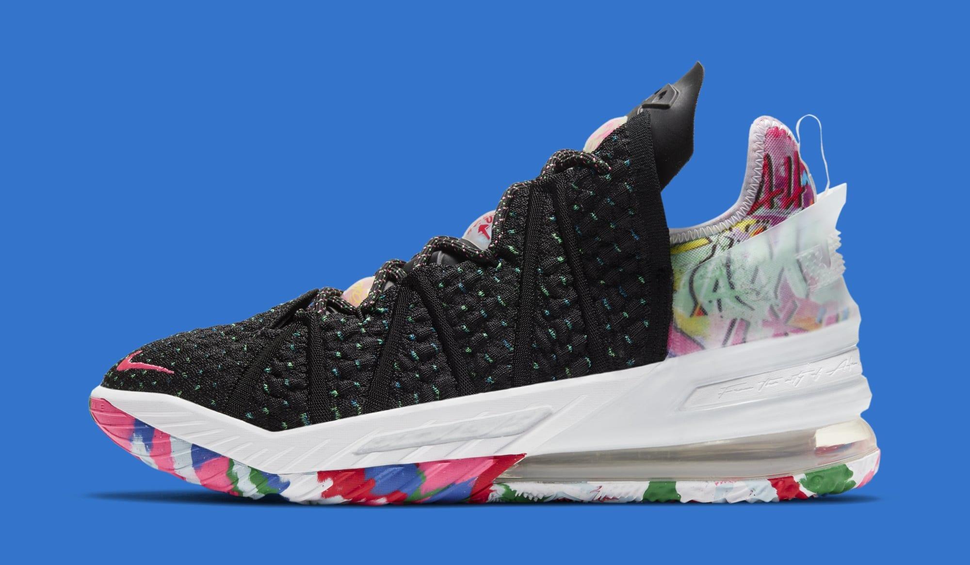 Nike LeBron 18 XVIII 'James Gang' CQ9283-002 Lateral