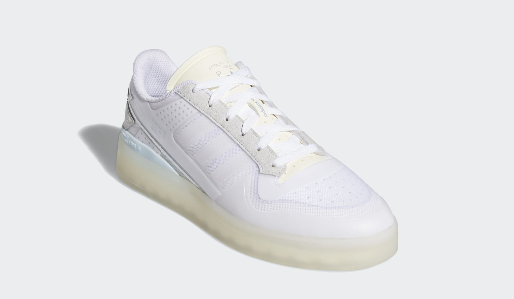 Adidas Forum Low Tech Boost 'Cloud White' Q46357 Front