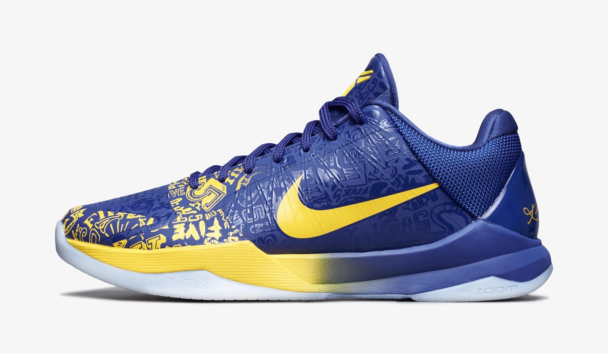 Nike Kobe 5 Protro 'Five Rings' CD4991-400 Lateral