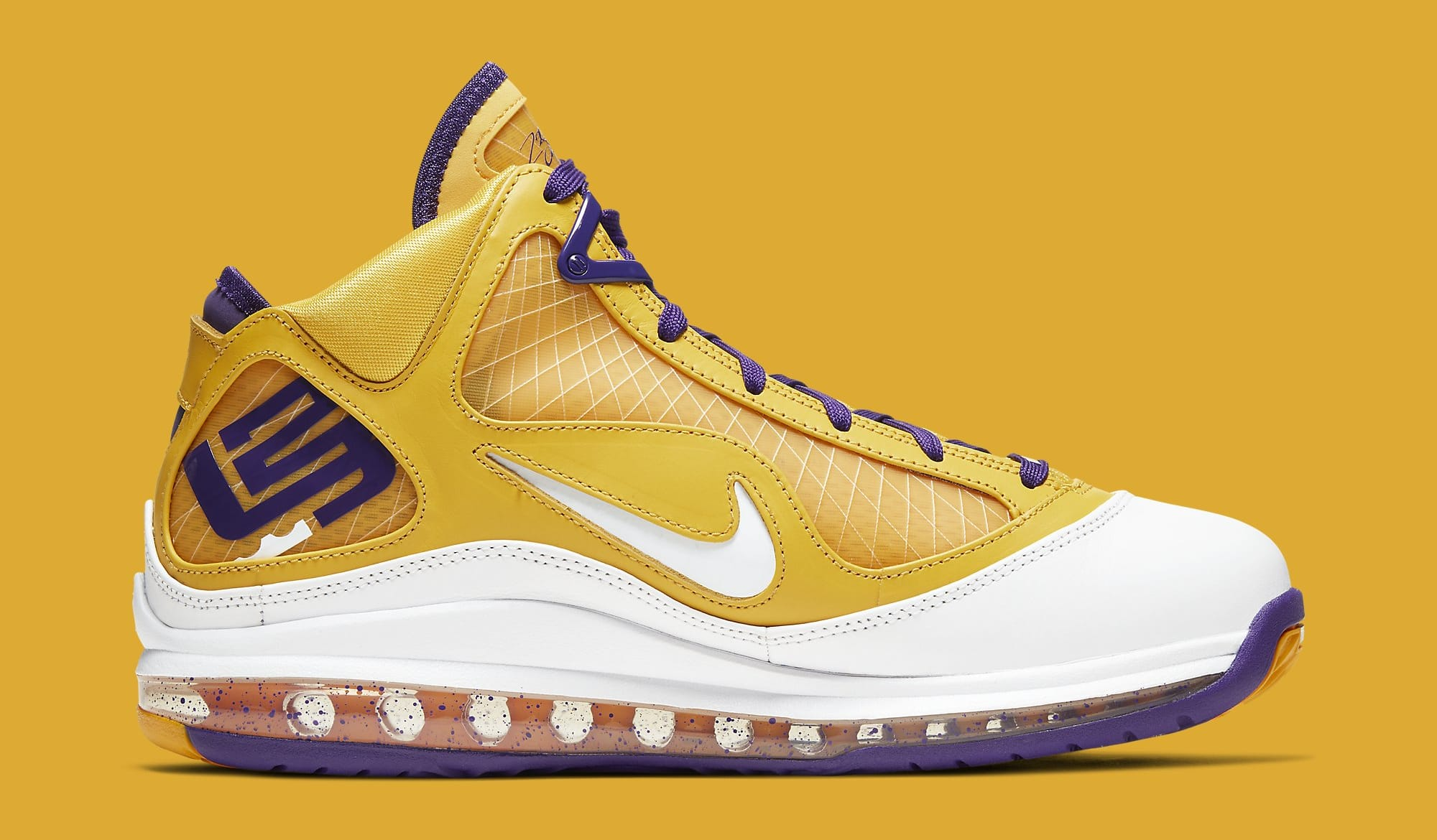 Nike LeBron 7 'Lakers' CW2300-500 Medial