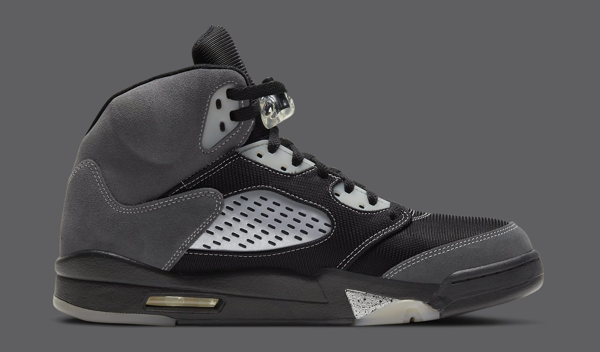 Air Jordan 5 Retro 'Anthracite' DB0731-001 Medial