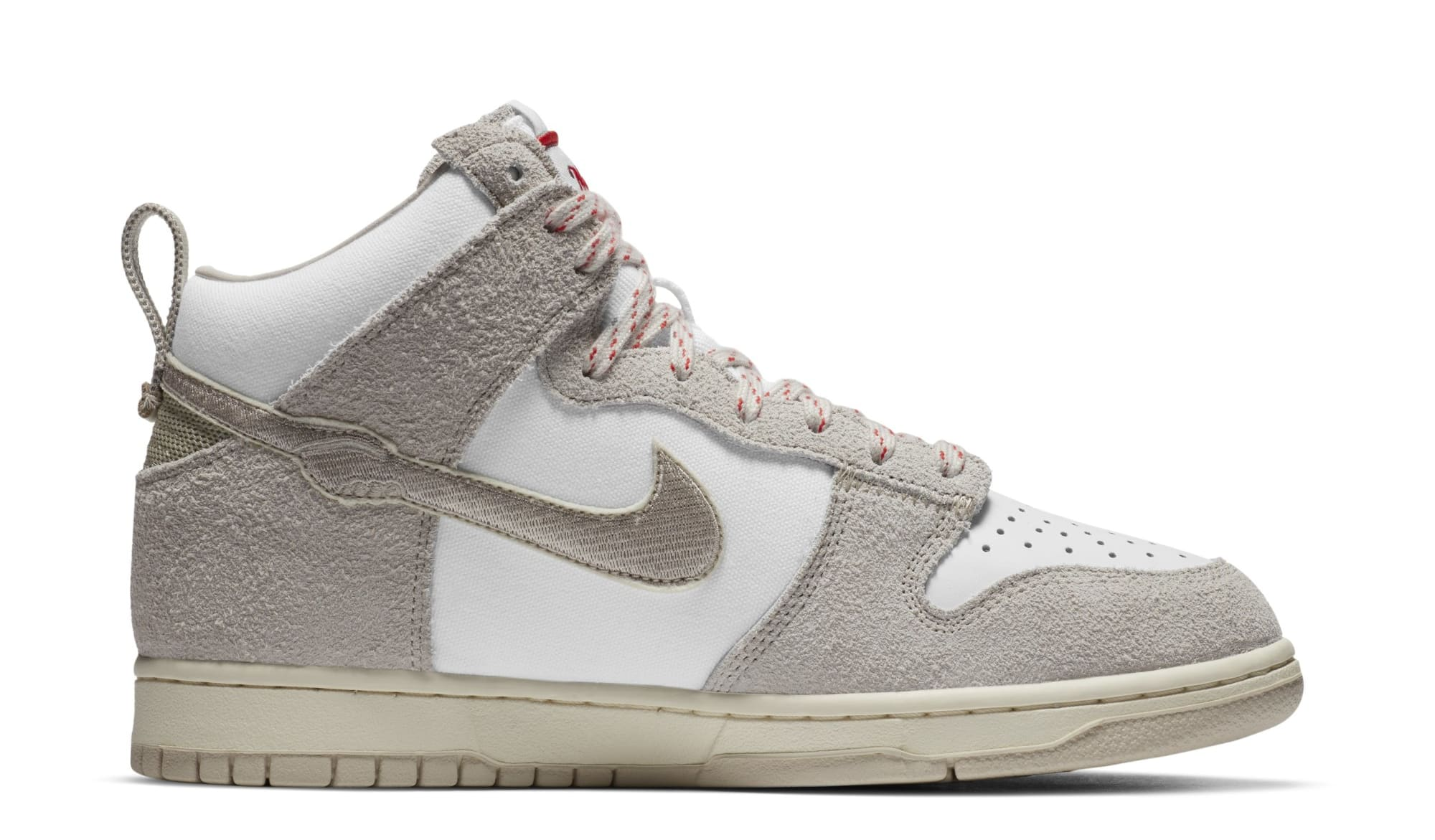 Notre x Nike Dunk High 'Light Orewood Brown/White' (Medial)