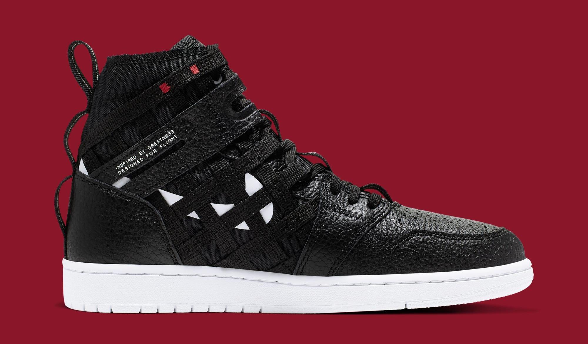 quality design d4ad8 bc1b3 Image via Nike WMNS Air Jordan 1 High Cargo  Black  CD6757-001 (Medial)