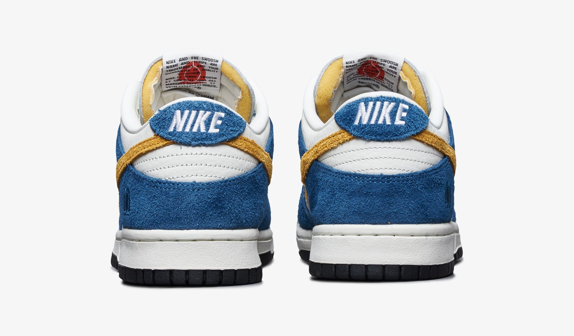 Kasina x Nike Dunk Low 'Industrial Blue' CZ6501-100 Heel