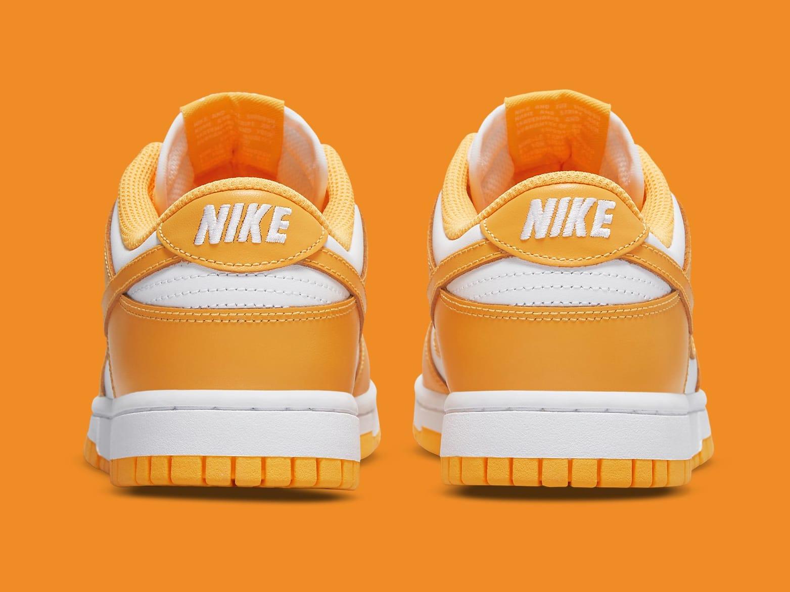 Nike Dunk Low Laser Orange Release Date DD1503-800 Heel