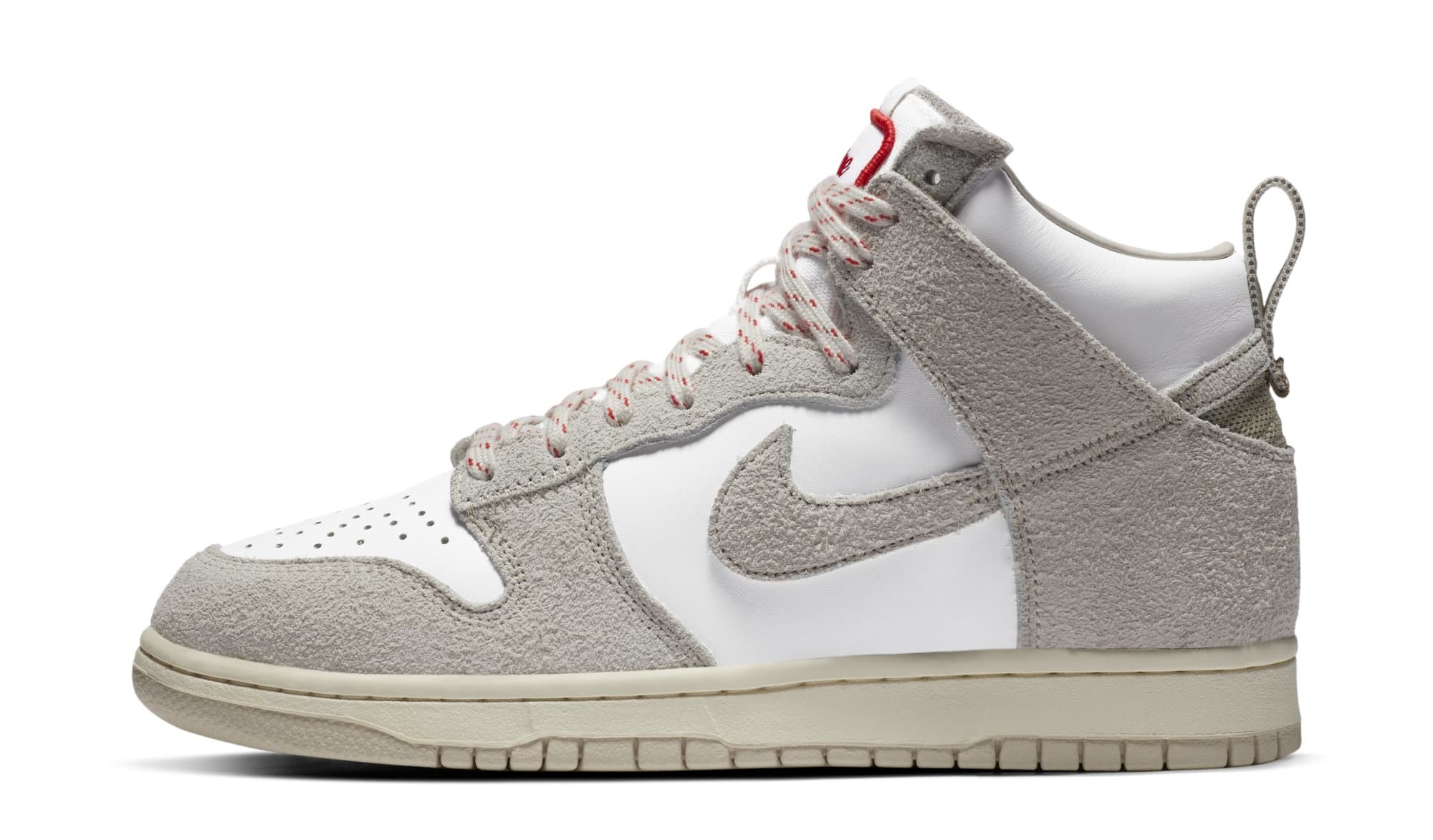 Notre x Nike Dunk High 'Light Orewood Brown/White' (Lateral)