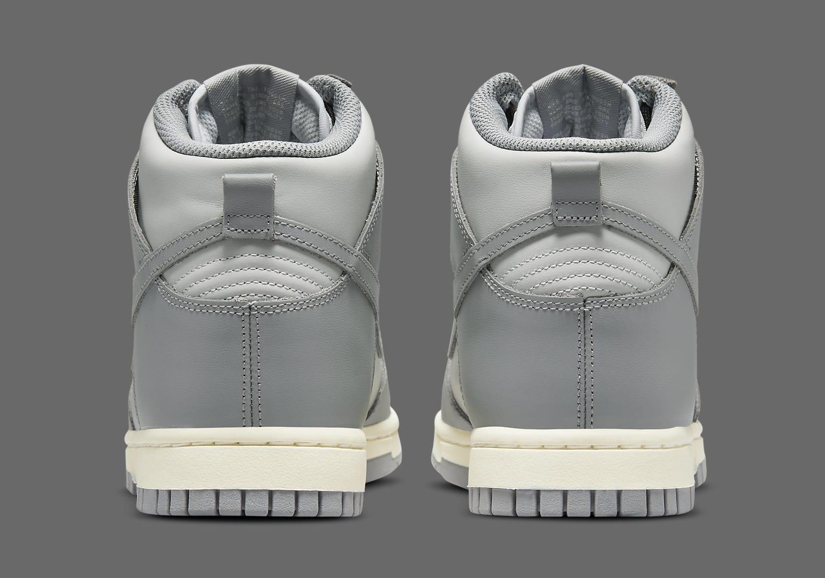 Nike Dunk High 'Grey' DD1869-001 Heel
