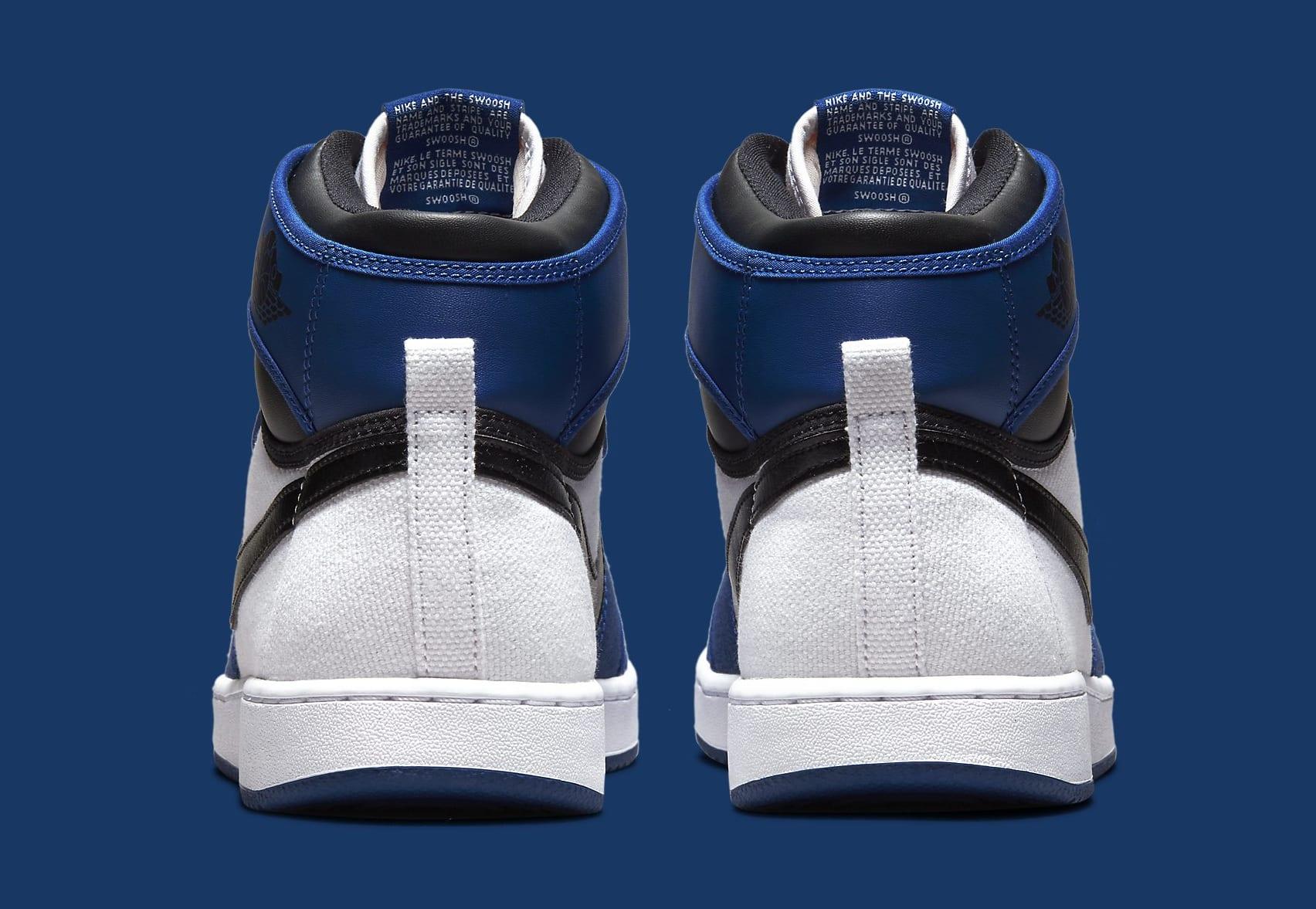 Air Jordan 1 KO 'Storm Blue' DO5047-401 Heel