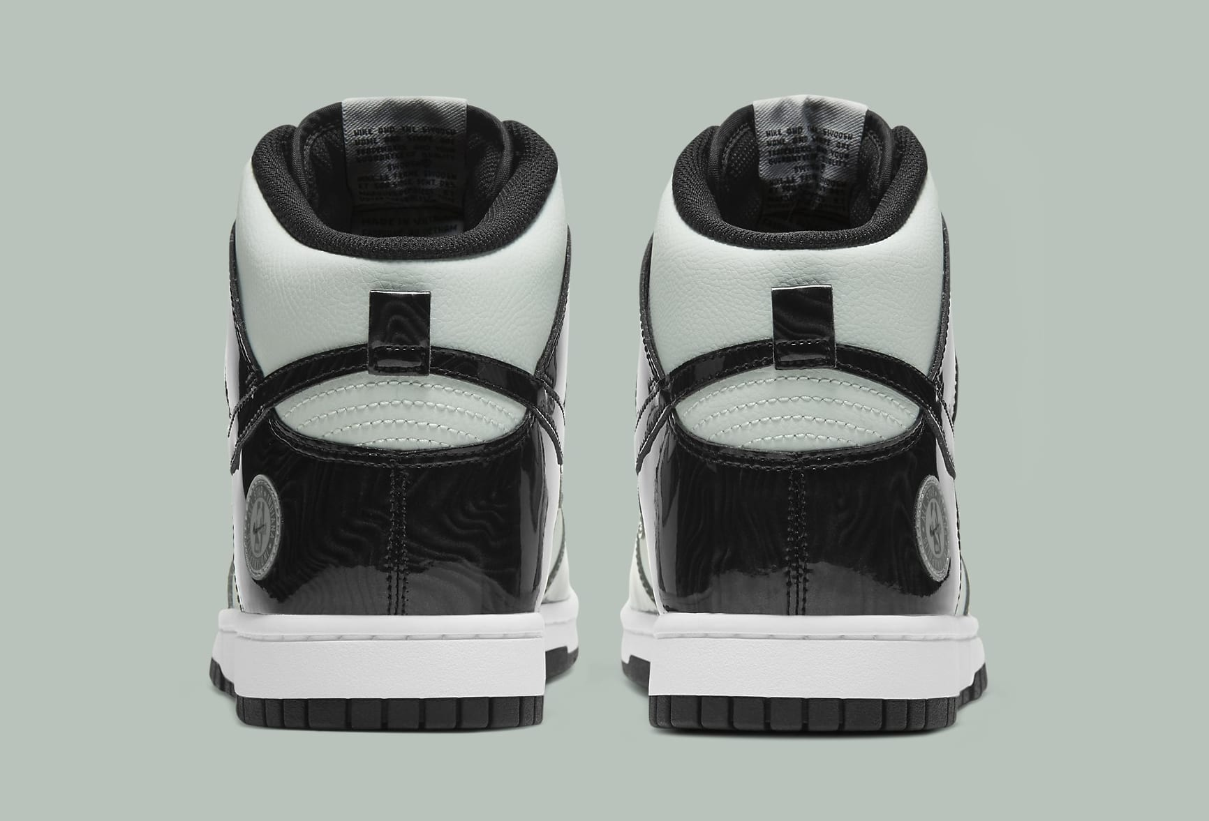 Nike Dunk High 'Barely Green' DD1398-300 Heel