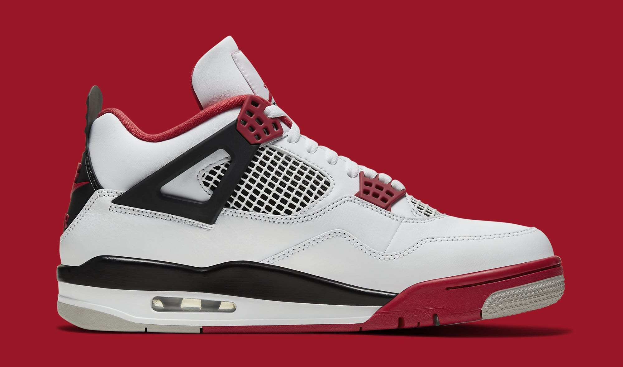 Air Jordan 4 IV Fire Red 2020 Release Date DC7770-160 Medial