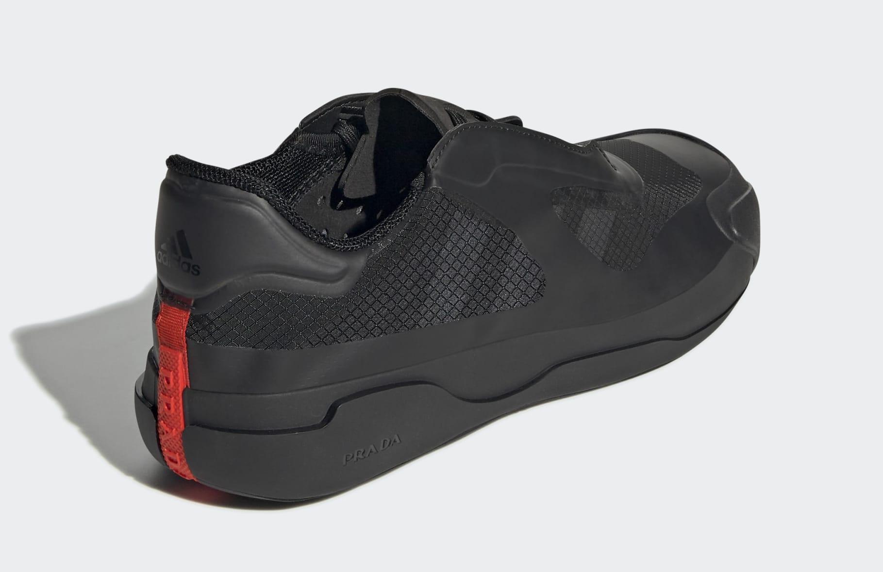 Prada x Adidas Luna Rossa 21 'Core Black' G57868 Talon