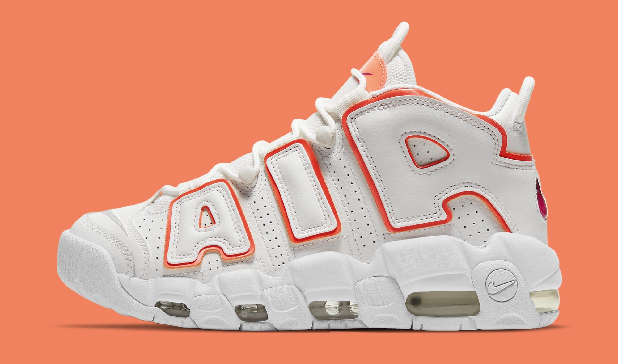 Nike Air More Uptempo 'Sunset' DH4968-100 Lateral