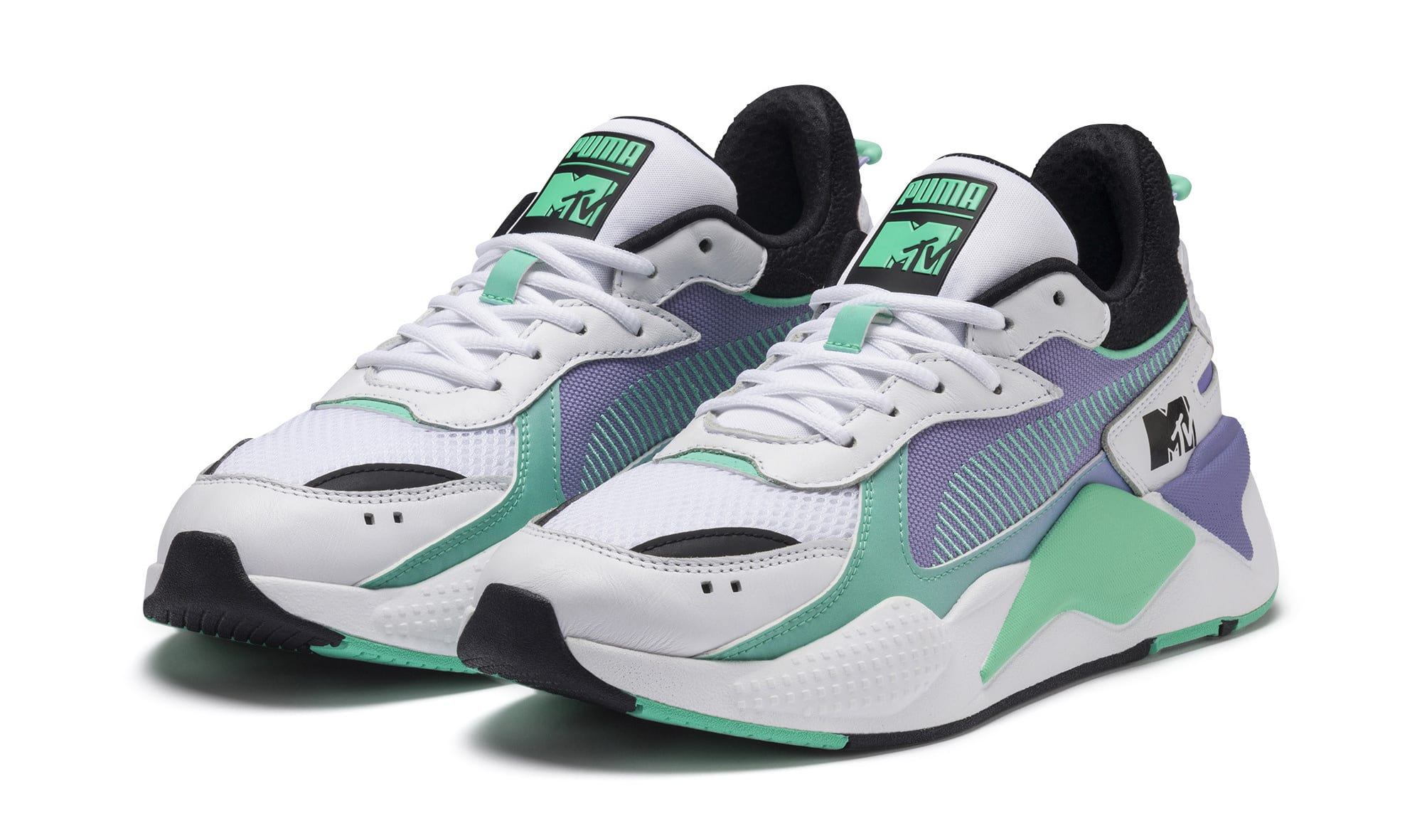 MTV x Puma RS-X 'Puma White/Sweet Lavender' 370407-01 (Pair)