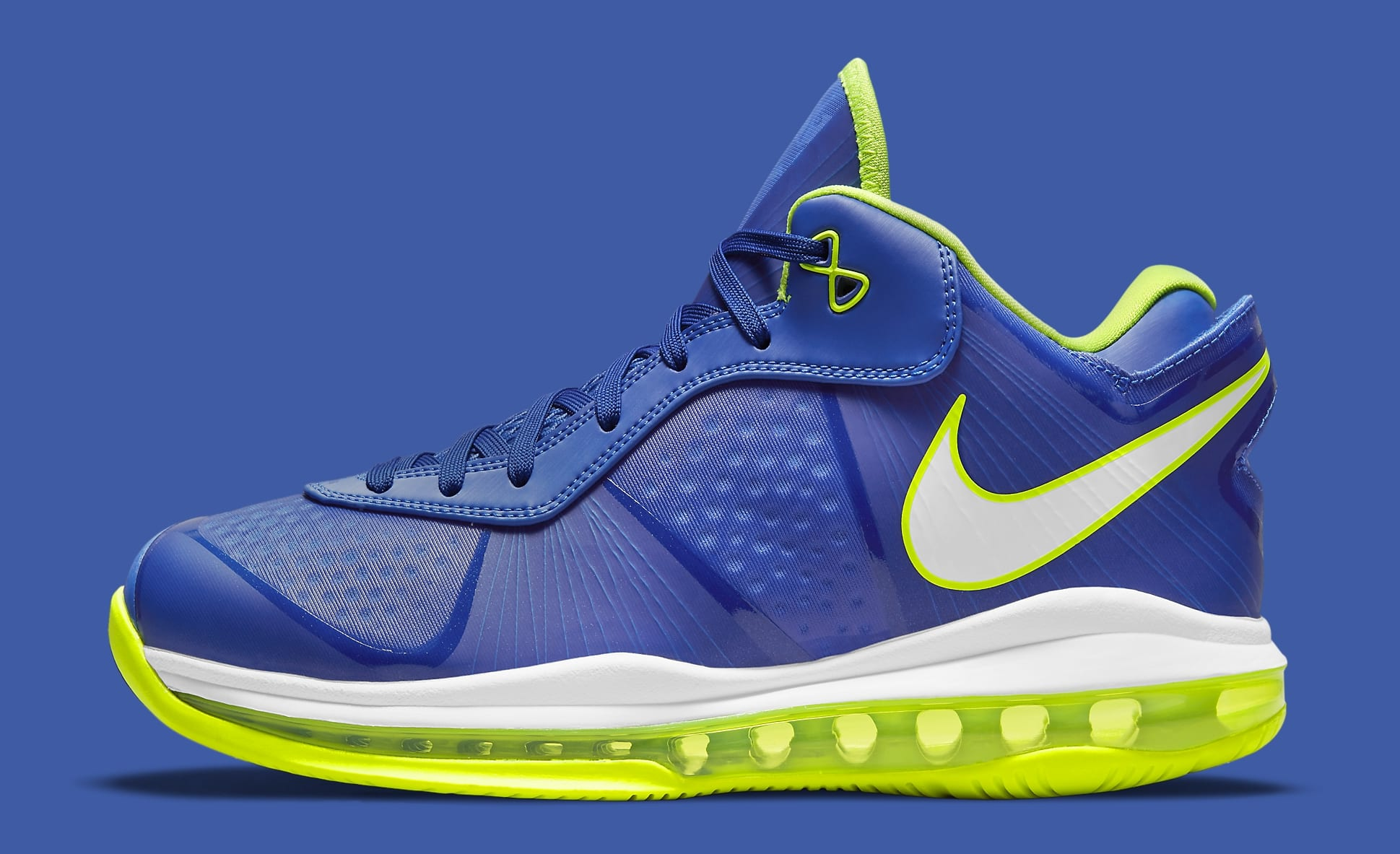 Nike LeBron 8 Low 'Sprite' 2021 DN1581-400 Lateral