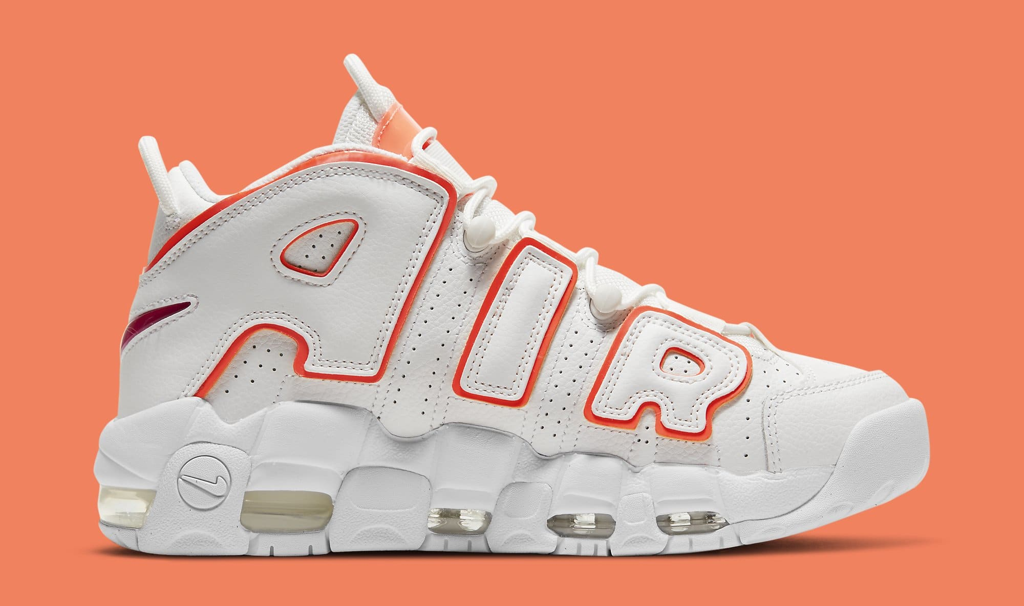 Nike Air More Uptempo 'Sunset' DH4968-100 Medial