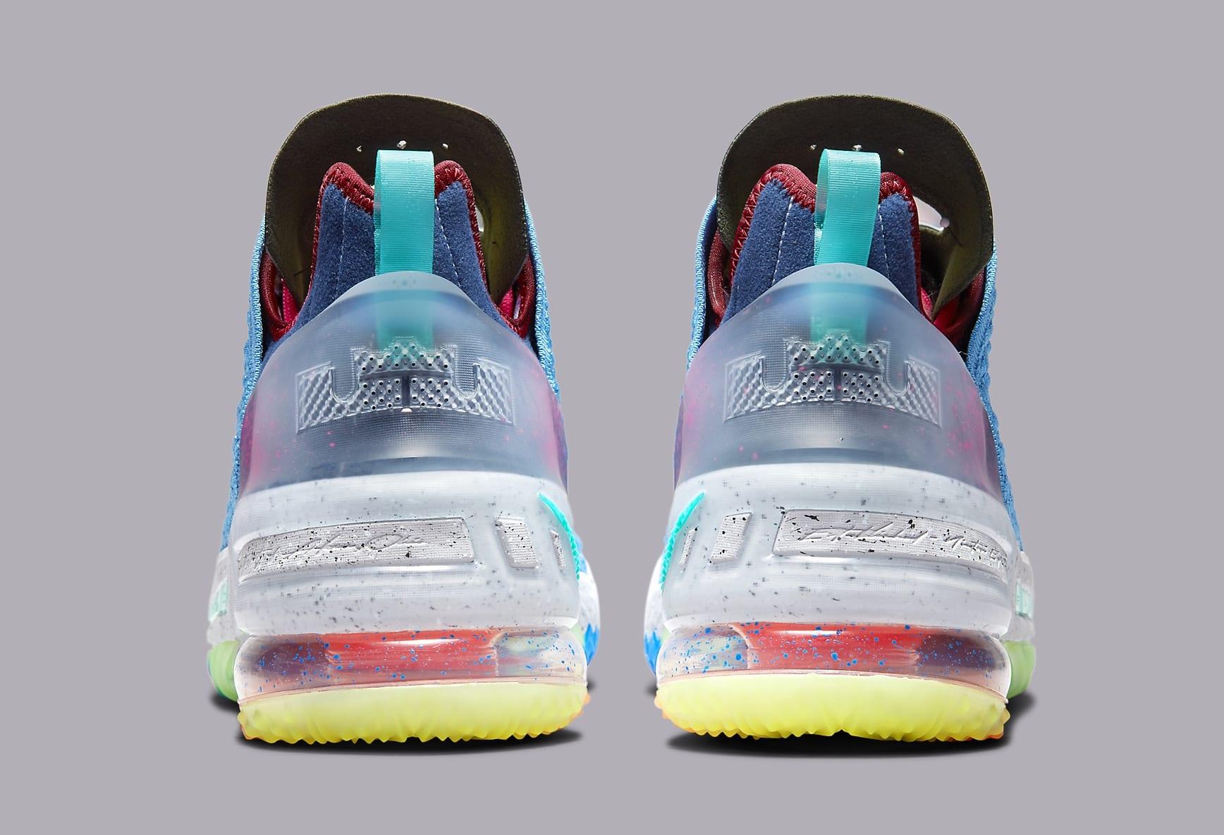 Nike LeBron 18 'Best 1-9' DM2813 400 Heel