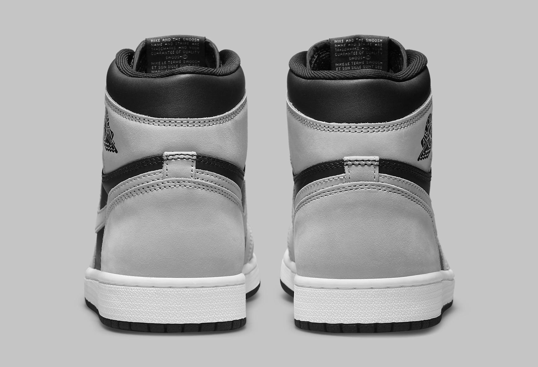 Air Jordan 1 Retro High OG 'Shadow 2.0' 555088-035 Heel