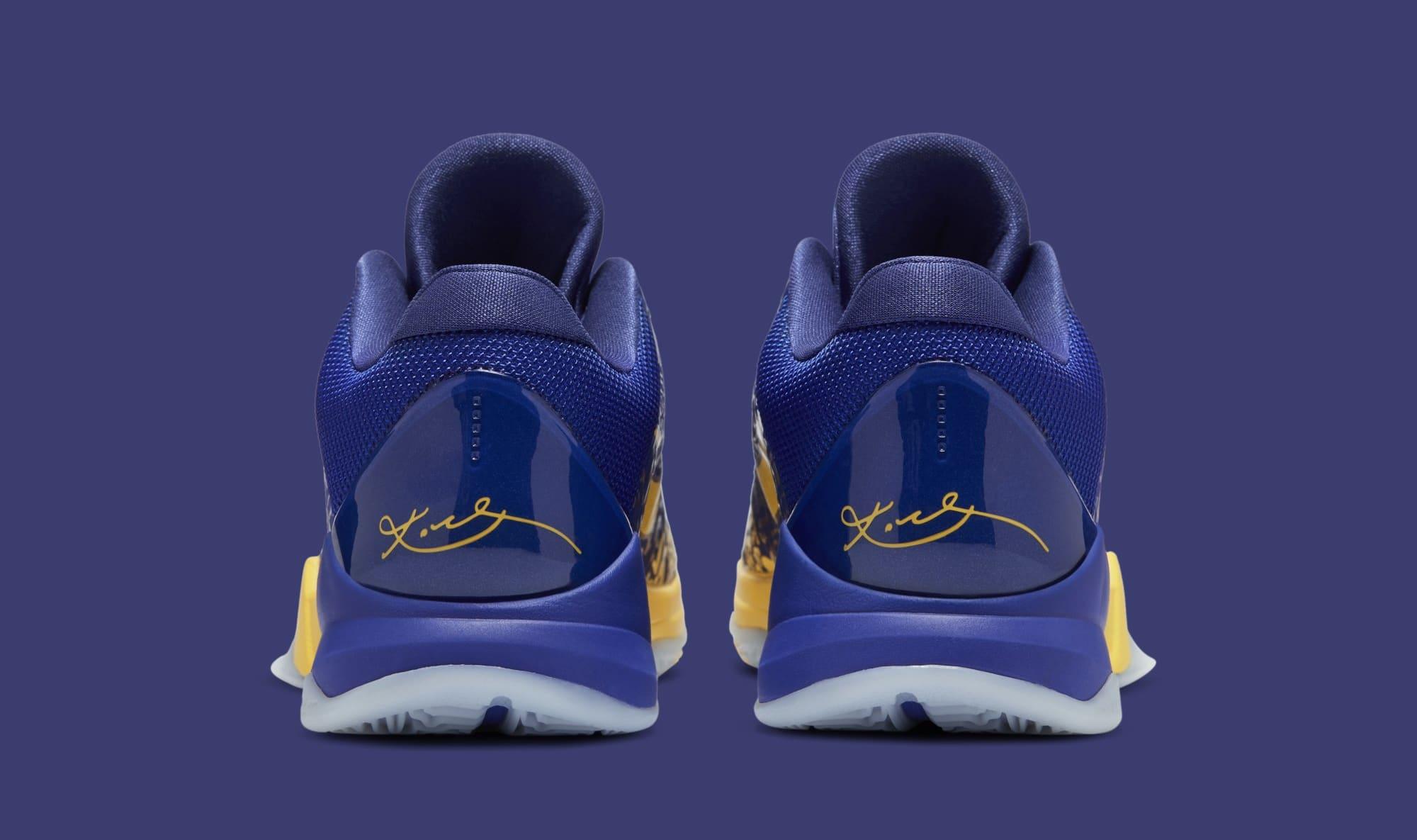 Nike Kobe 5 Protro '5 Rings' CD4991-400 Heel