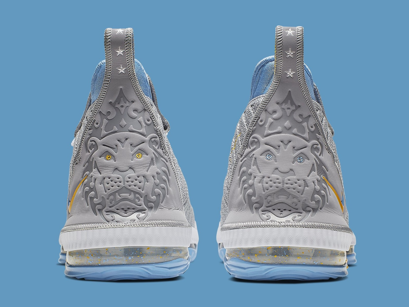 Nike LeBron 16 MPLS Release Date CK4765-001 Heel