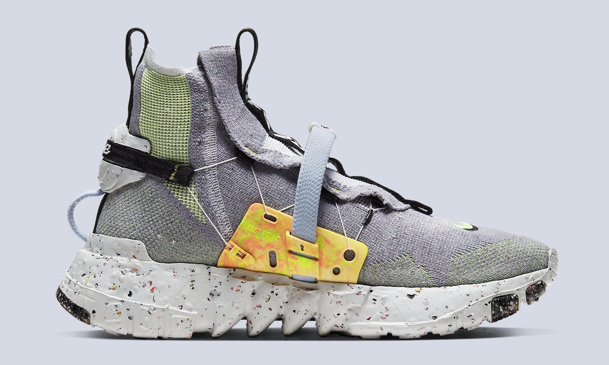 Nike Space Hippie 03 'Grey/Volt' CQ3989-002 Medial
