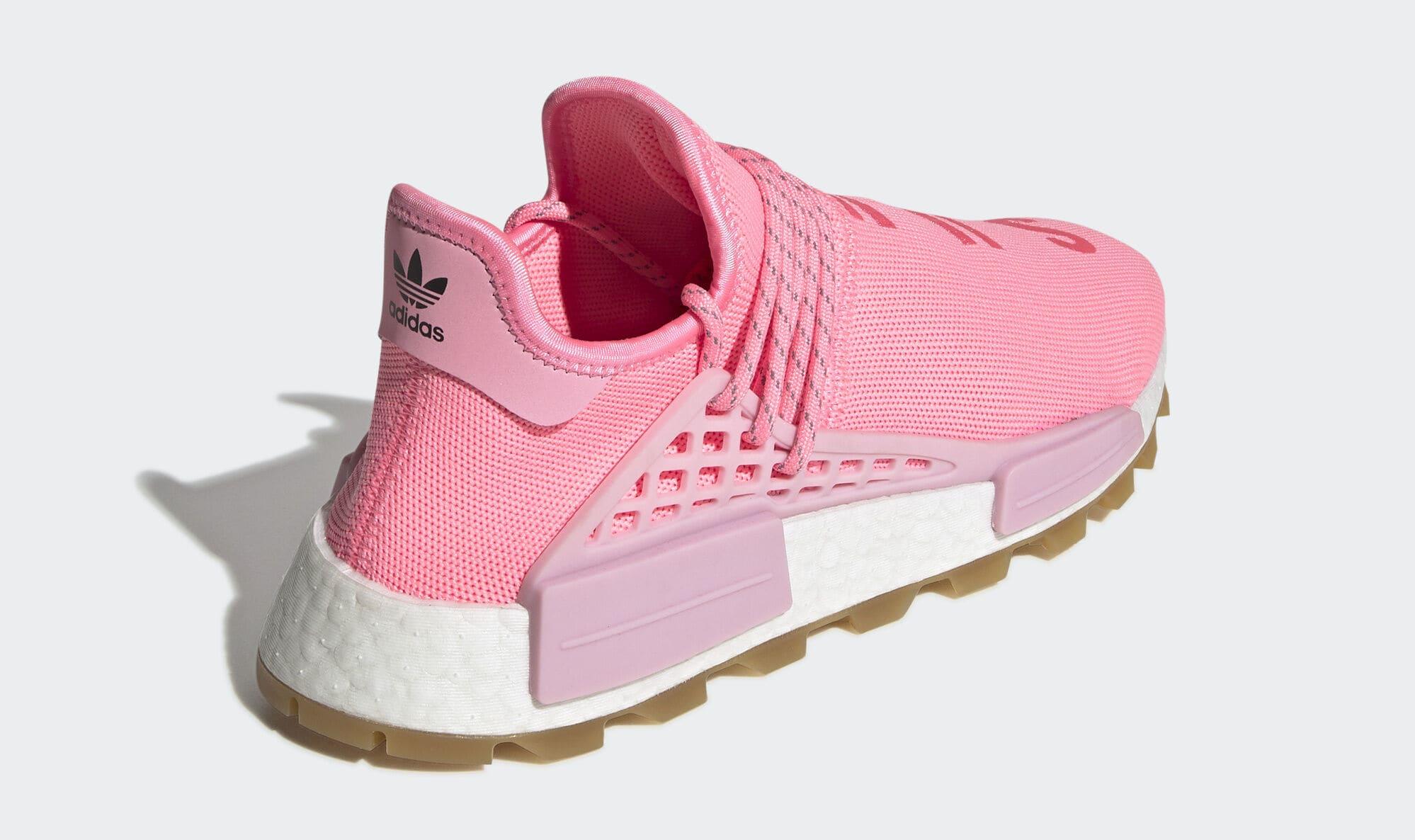 Pharrell x Adidas NMD Hu 'Gum' EG7740 (Heel)