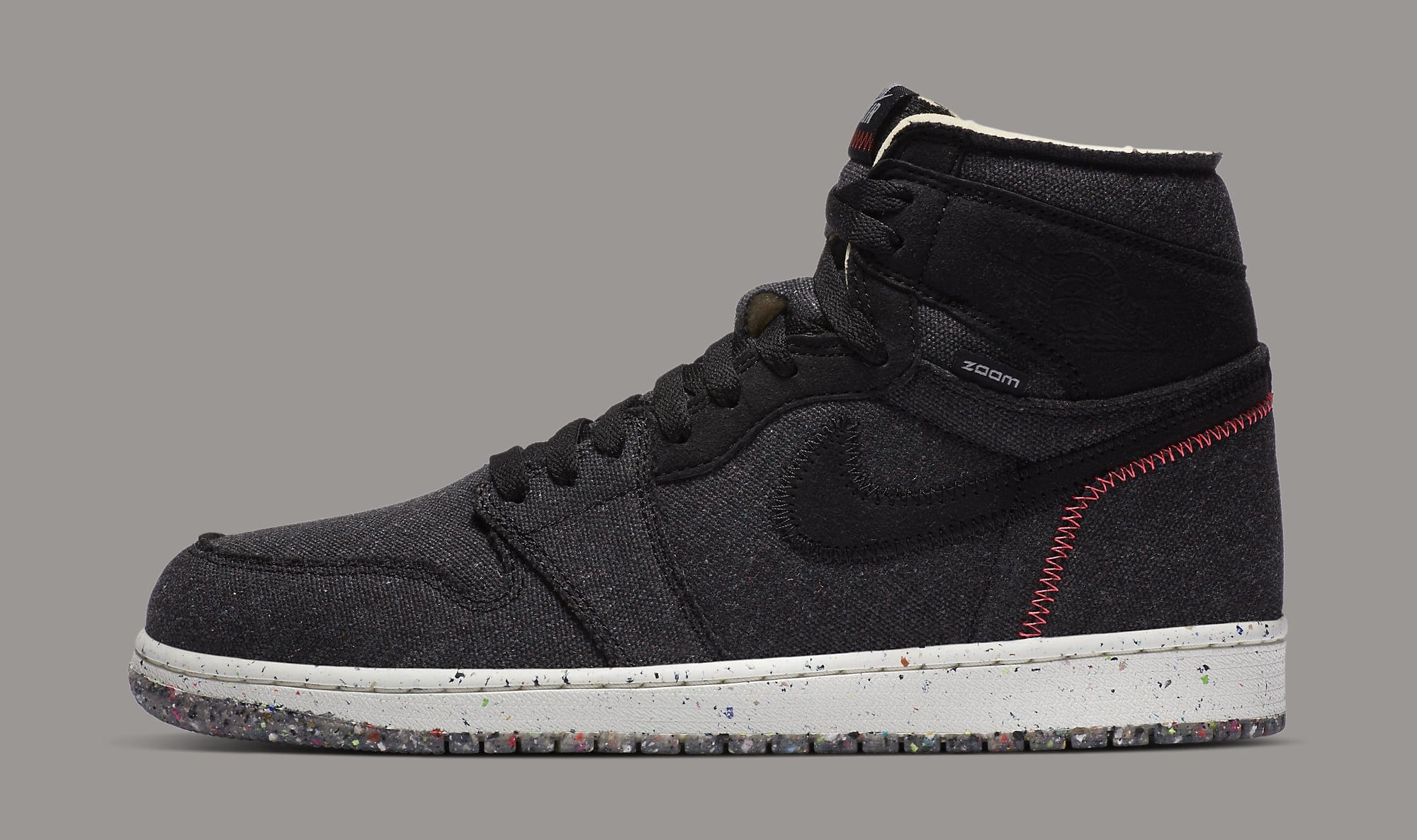 Air Jordan 1 High Zoom 'Crater' CW2414-001 Lateral