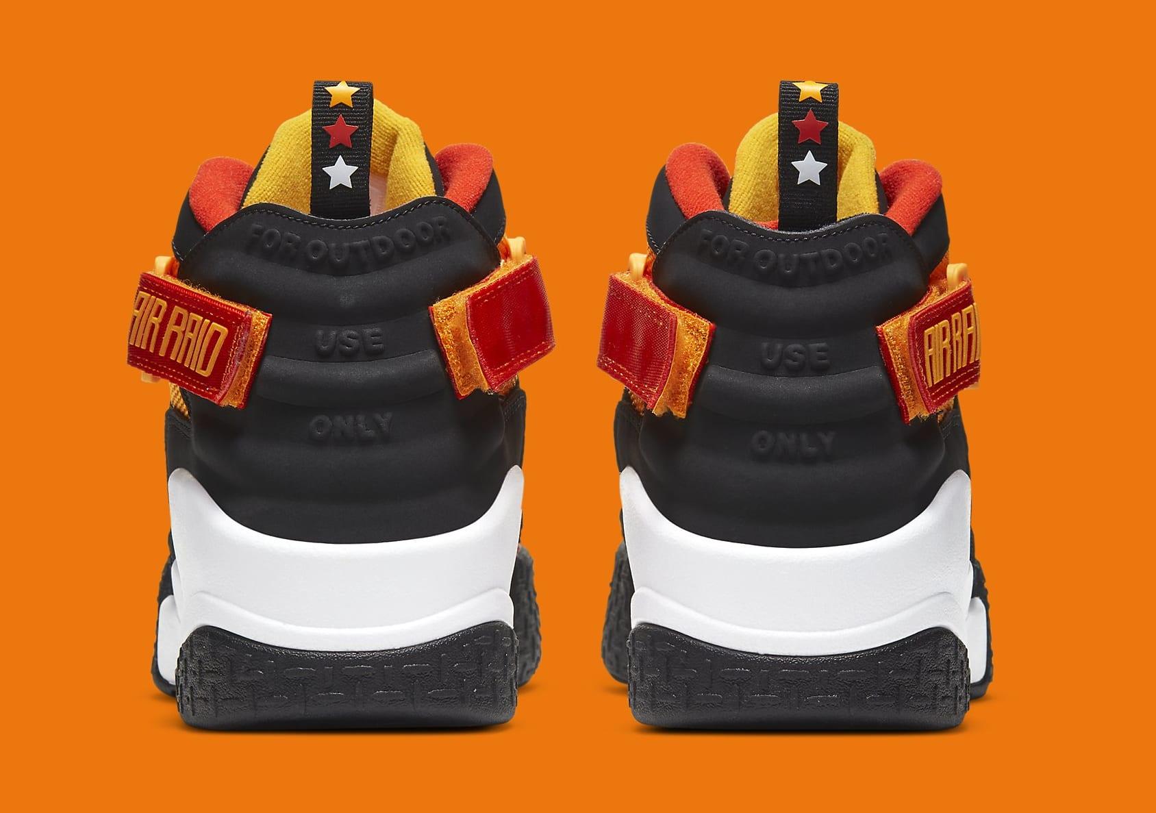 Nike Air Raid 'Rayguns' DD9222-001 Heel