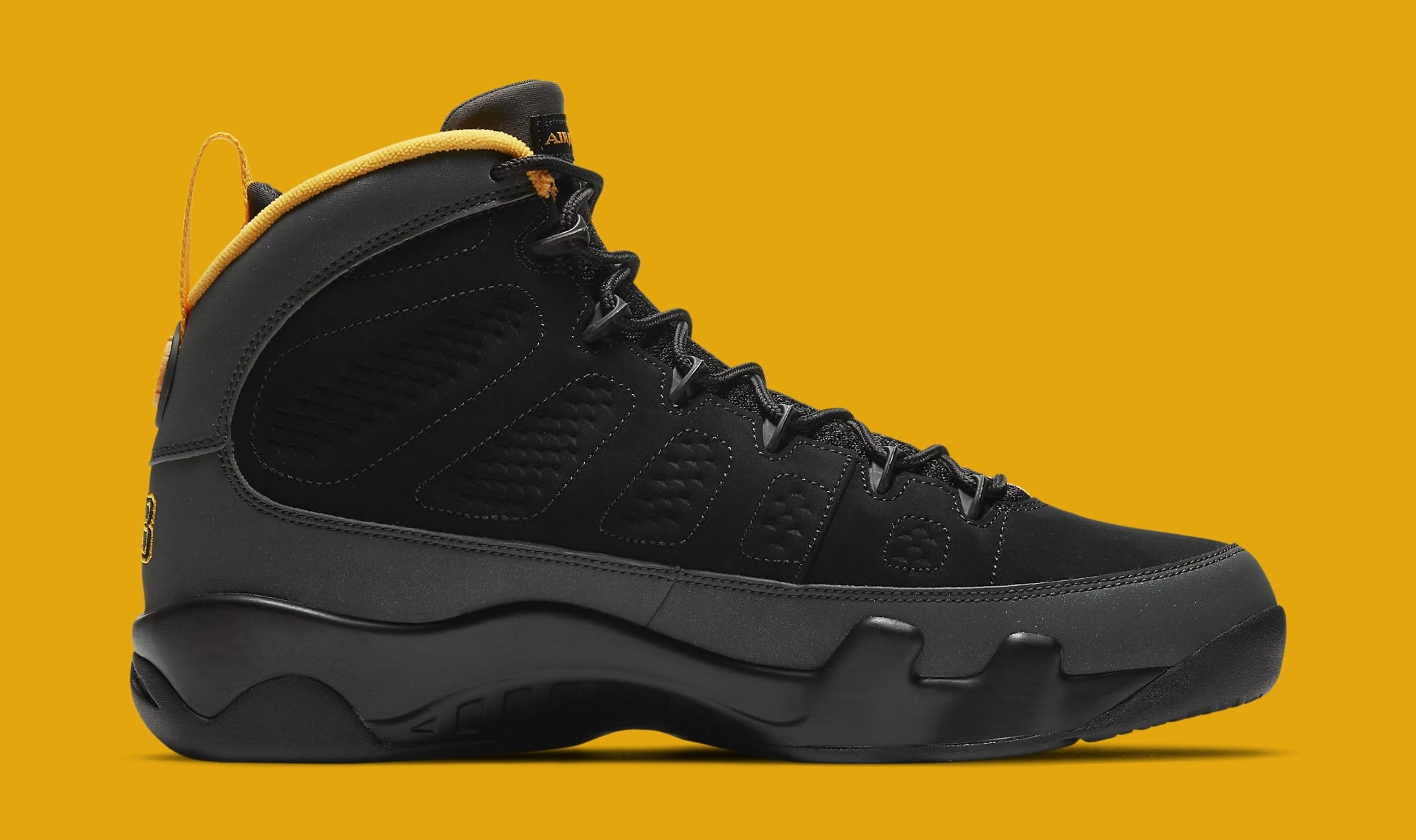 Air Jordan 9 Retro 'University Gold' CT8019-070 Medial
