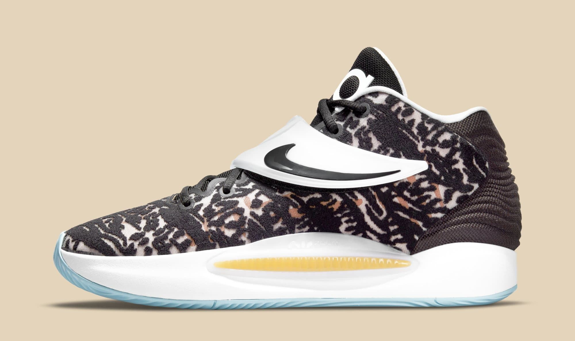 Nike KD 14 CW3935-001 (Lateral)