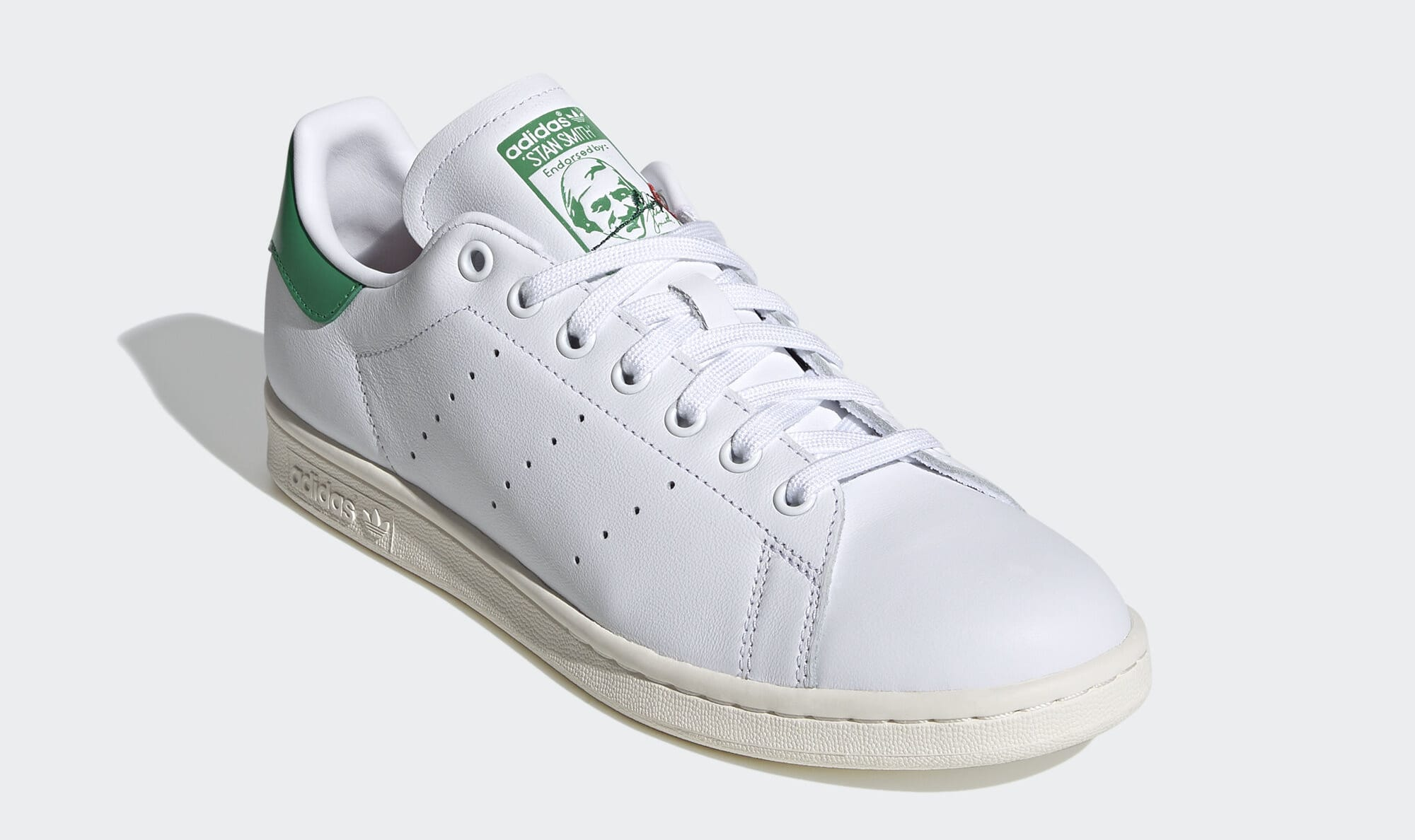Adidas Stan Smith 'Valentine's Day' (Green) EH1735 (Front)