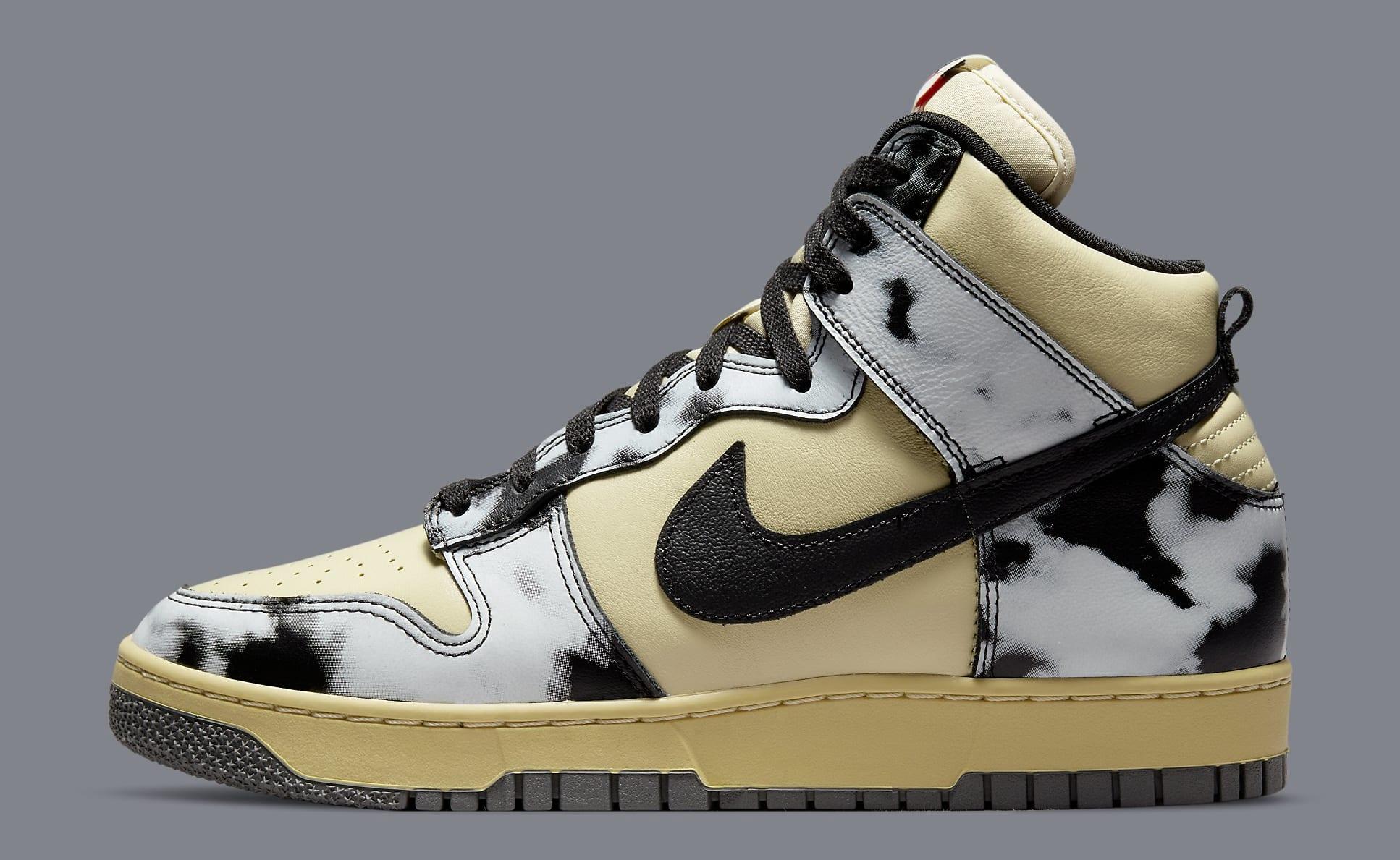 Nike Dunk High 'Acid Wash' DD9404-700 Lateral