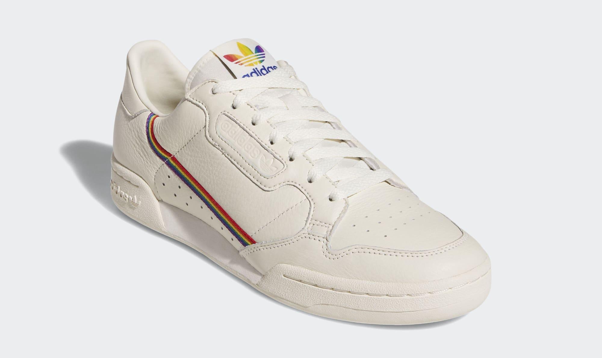 Adidas Continental 80 'Pride' EF2318 (Angle)