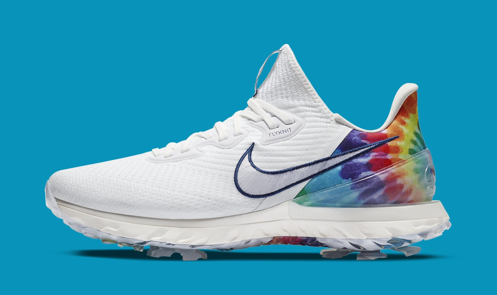 Nike Air Zoom Infinity Tour 'Tie-Dye' CT3732-100 Lateral
