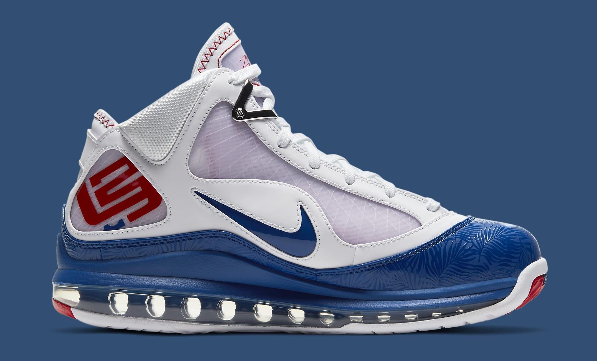 Nike LeBron 7 'Dodgers' DJ5158-100 Medial