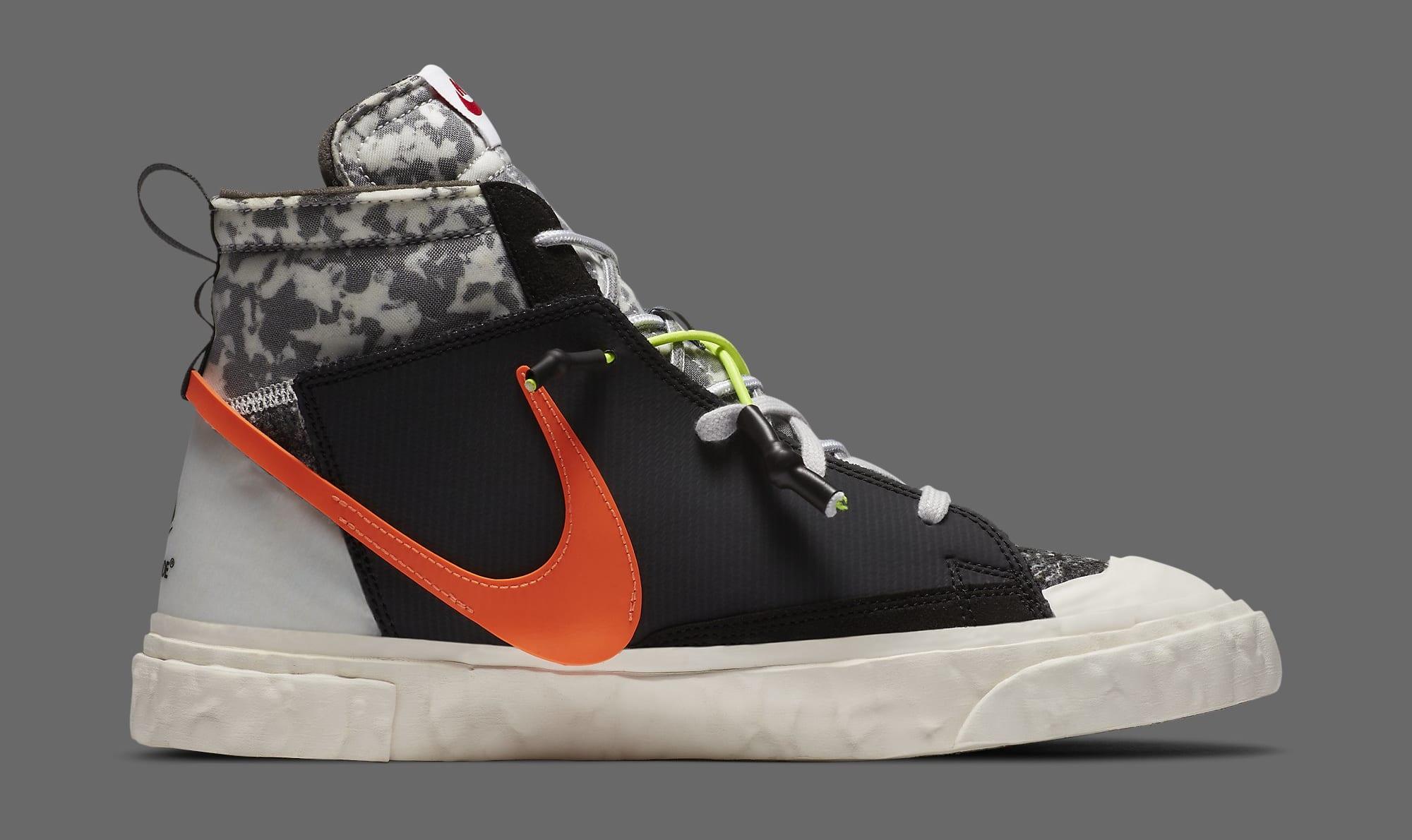 Readymade x Nike Blazer Mid CZ3589-001 Medial