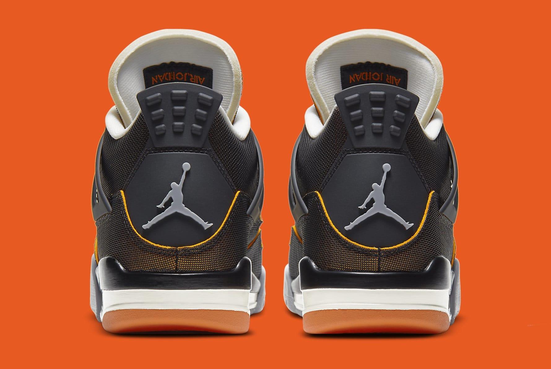 Air Jordan 4 Retro Women's 'Starfish' CW7183-100 Heel
