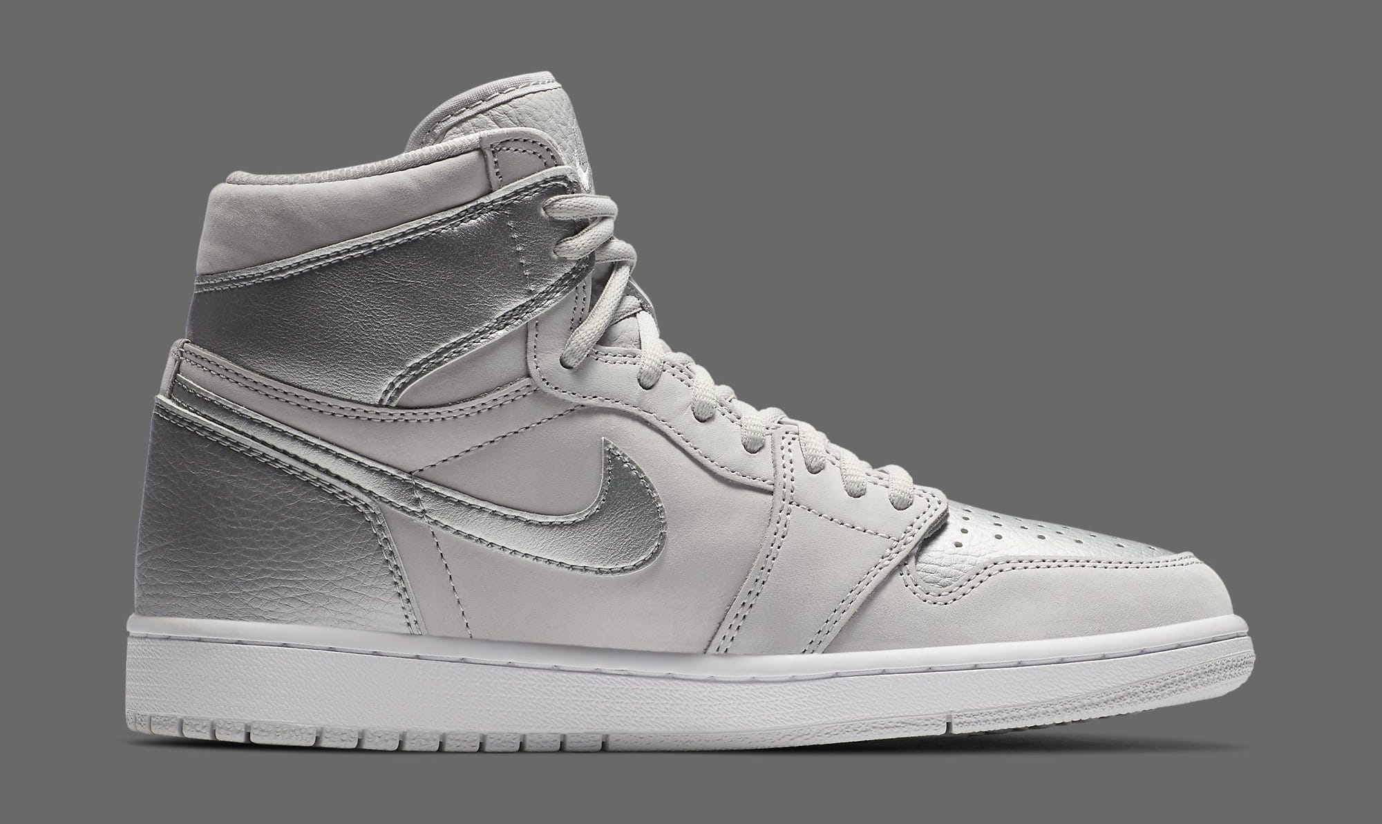 Air Jordan 1 Retro High OG CO.JP 'Metallic Silver' DA0382-029 Medial