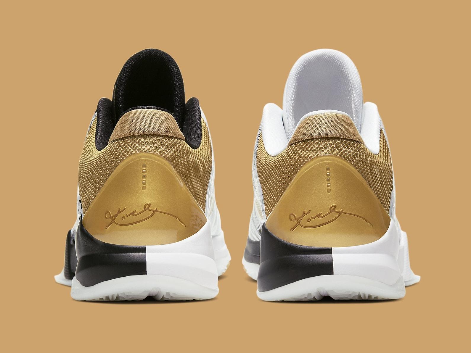 Nike Kobe 5 Big Stage Parade Release Date CT8014-100 Heel