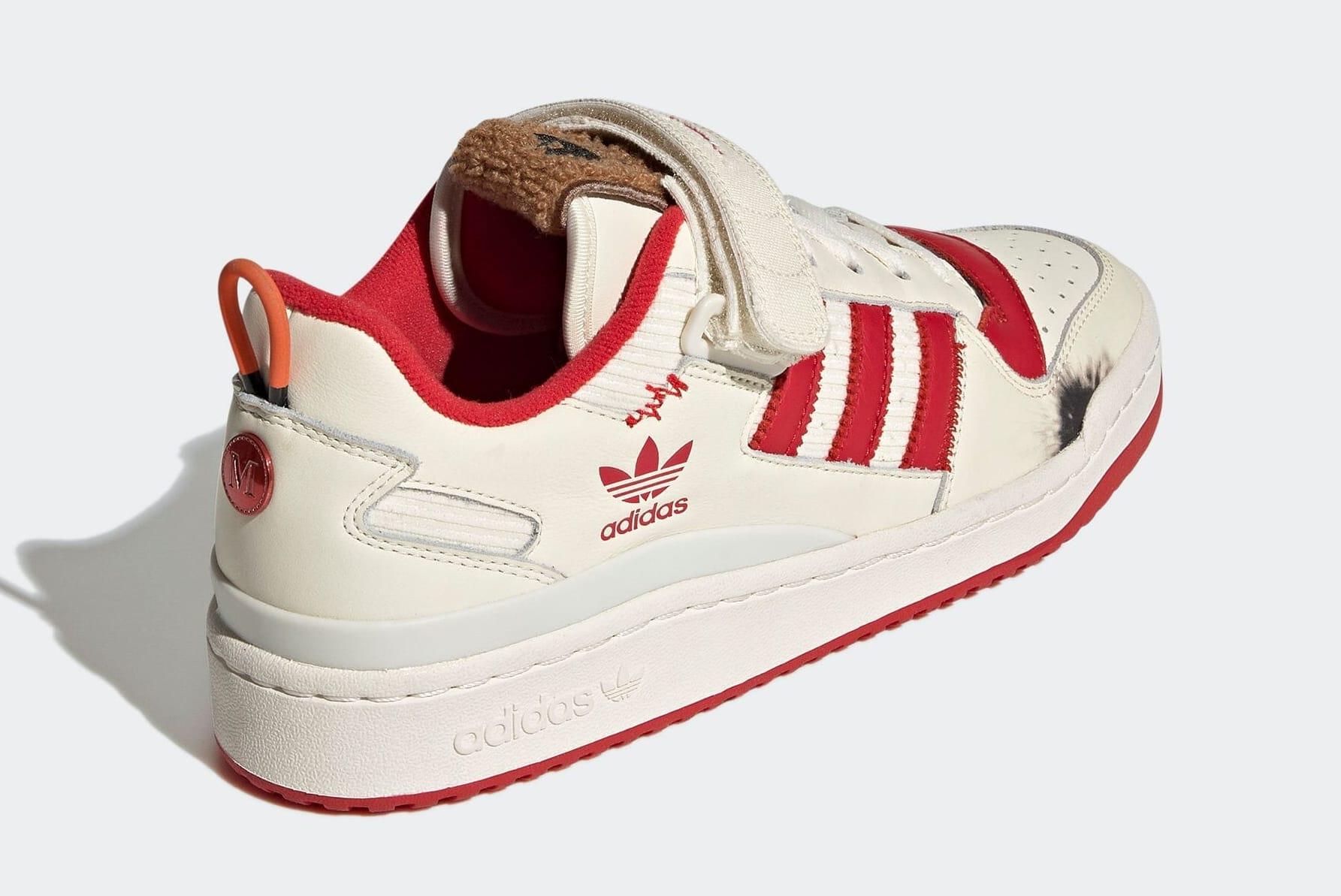 Home Alone x Adidas Forum Low GZ4378 Heel