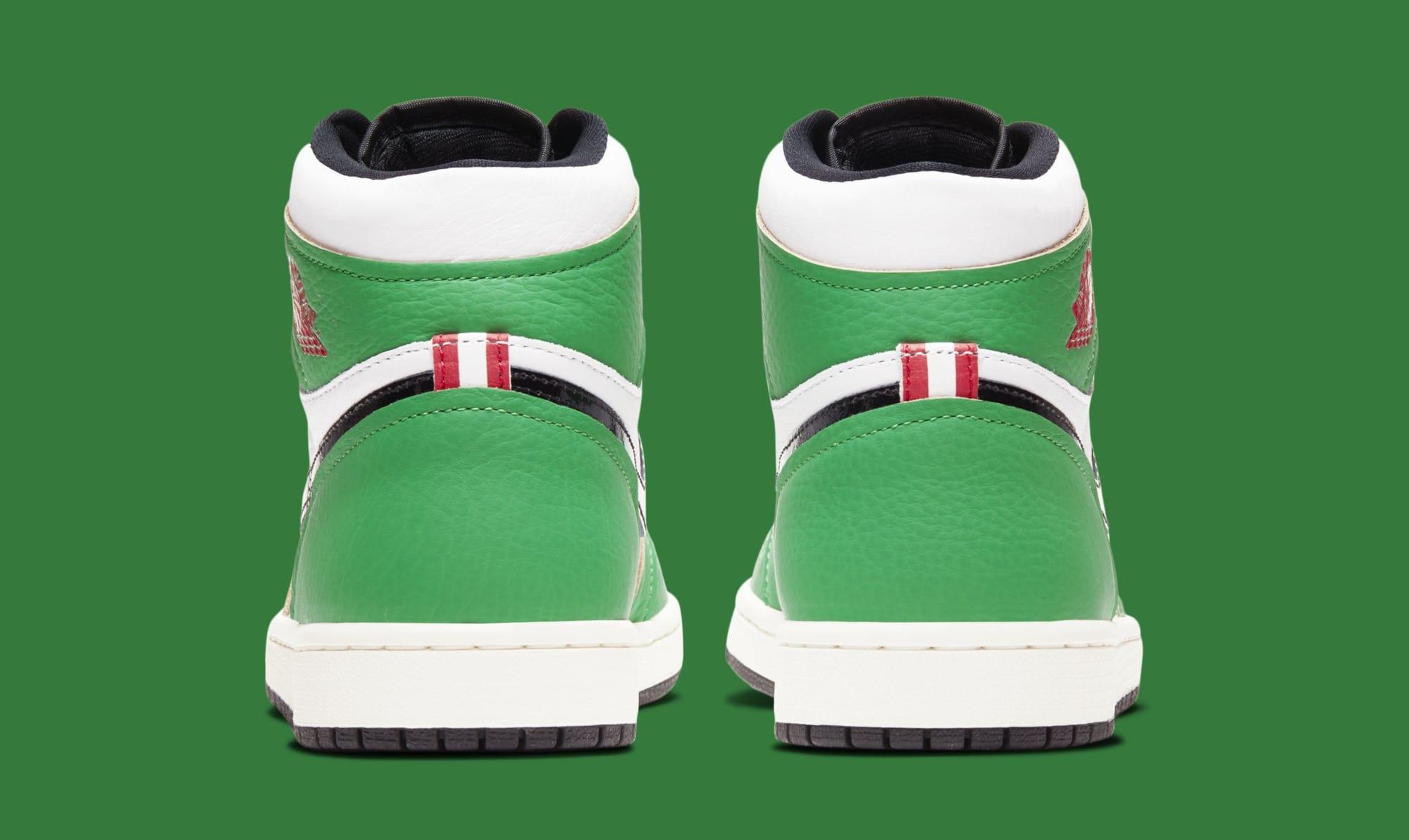 Air Jordan 1 Retro High OG Women's 'Lucky Green' DB4612-300 Heel