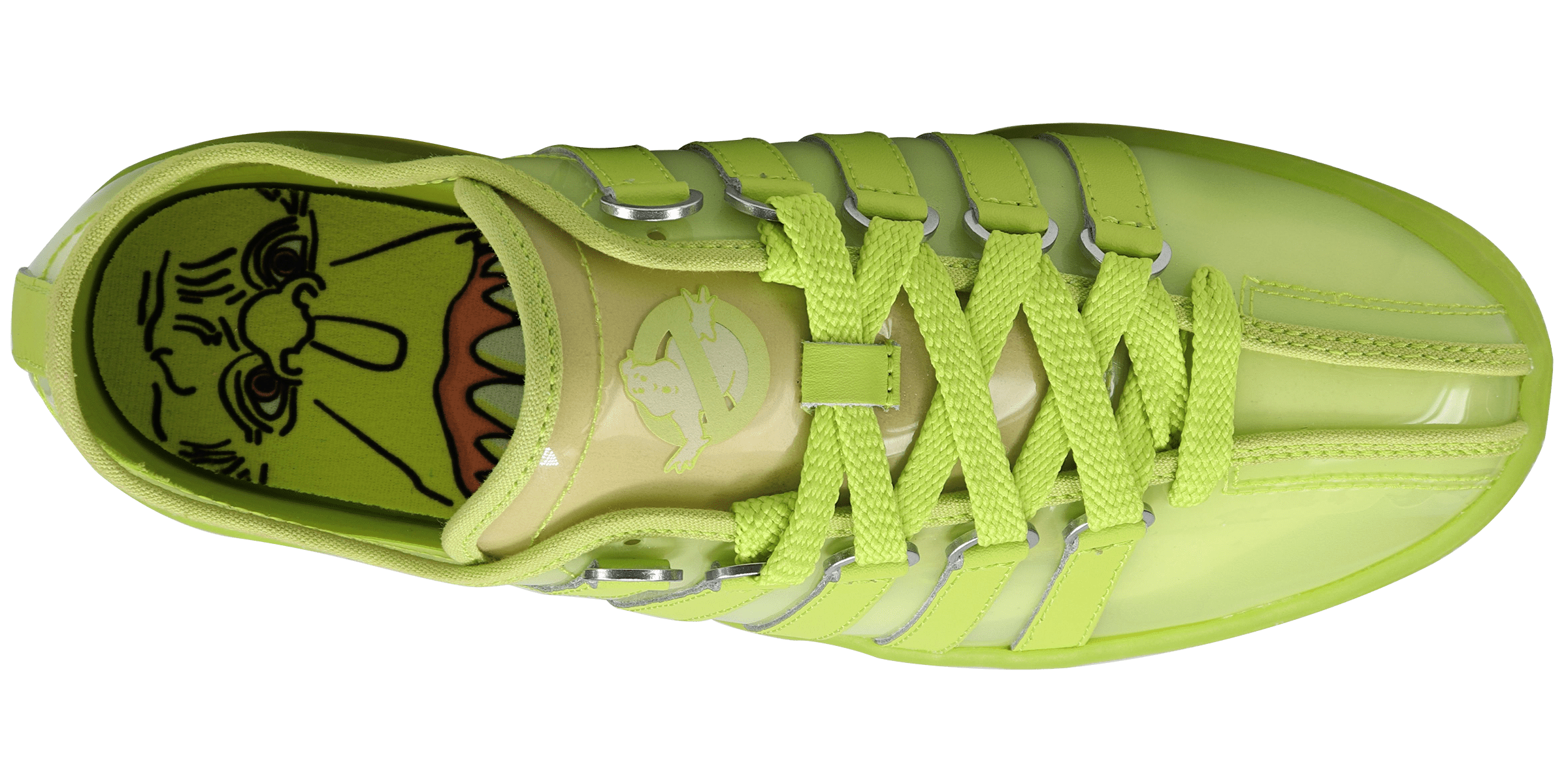 K-Swiss x Ghostbusters Classic 2000 'Slimer' 06619-305 (Top)