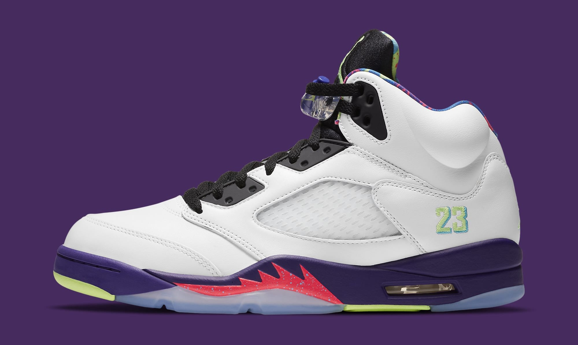 Air Jordan 5 Retro 'Ghost Green' DB3335-100 Lateral