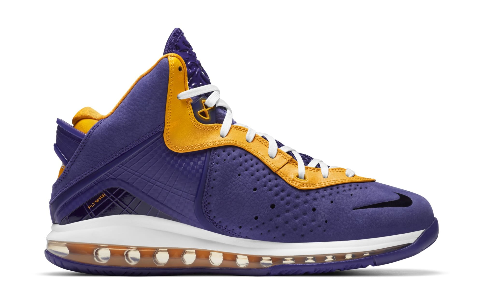 Nike LeBron 8 'Lakers' DC8380-500 (Medial)
