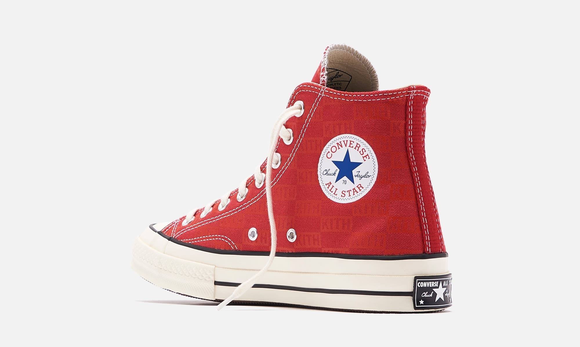 Kith x Converse Chuck 70 'Red' (Heel)