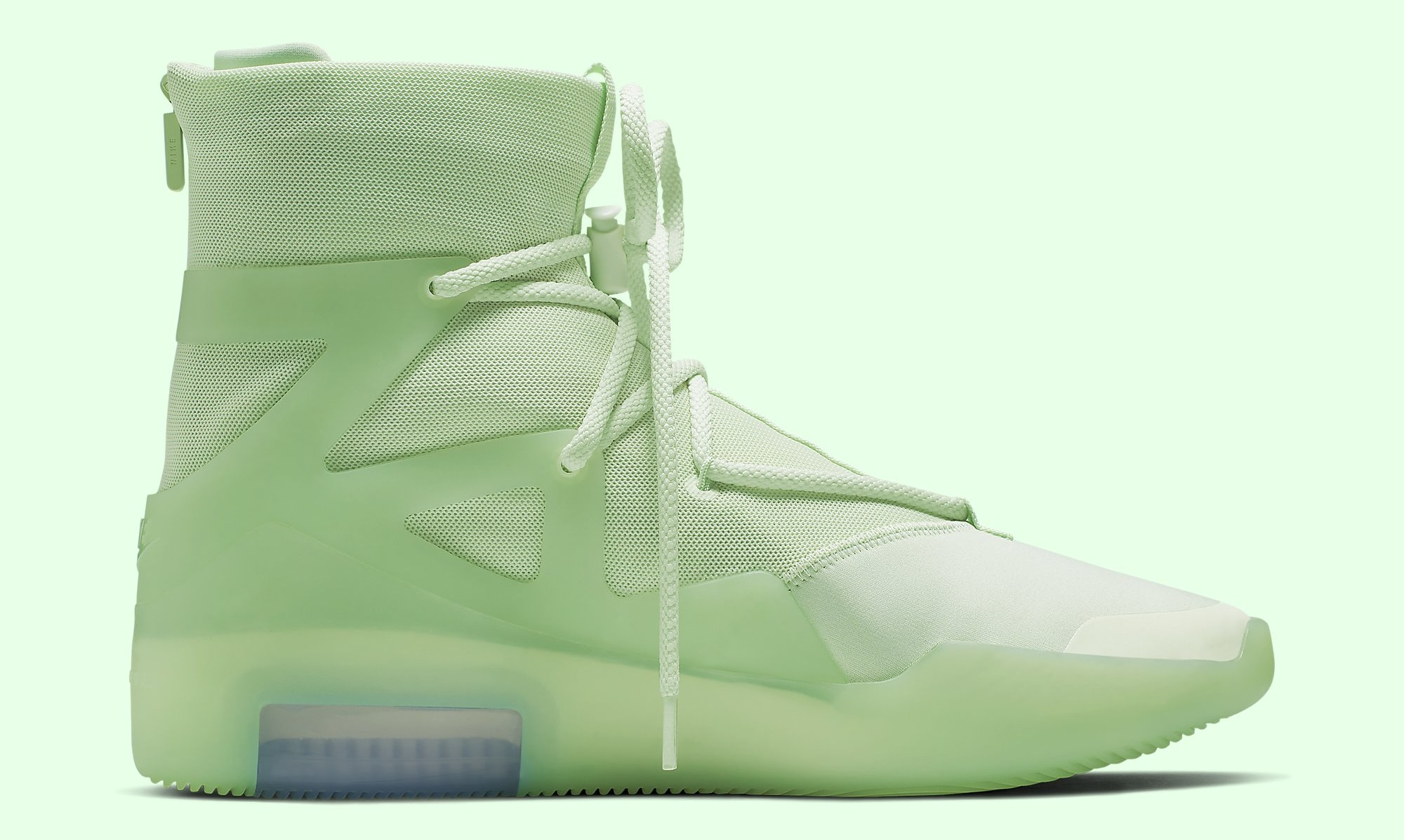 Nike Air Fear of God 1 'Frosted Spruce' AR4237-300 Medial